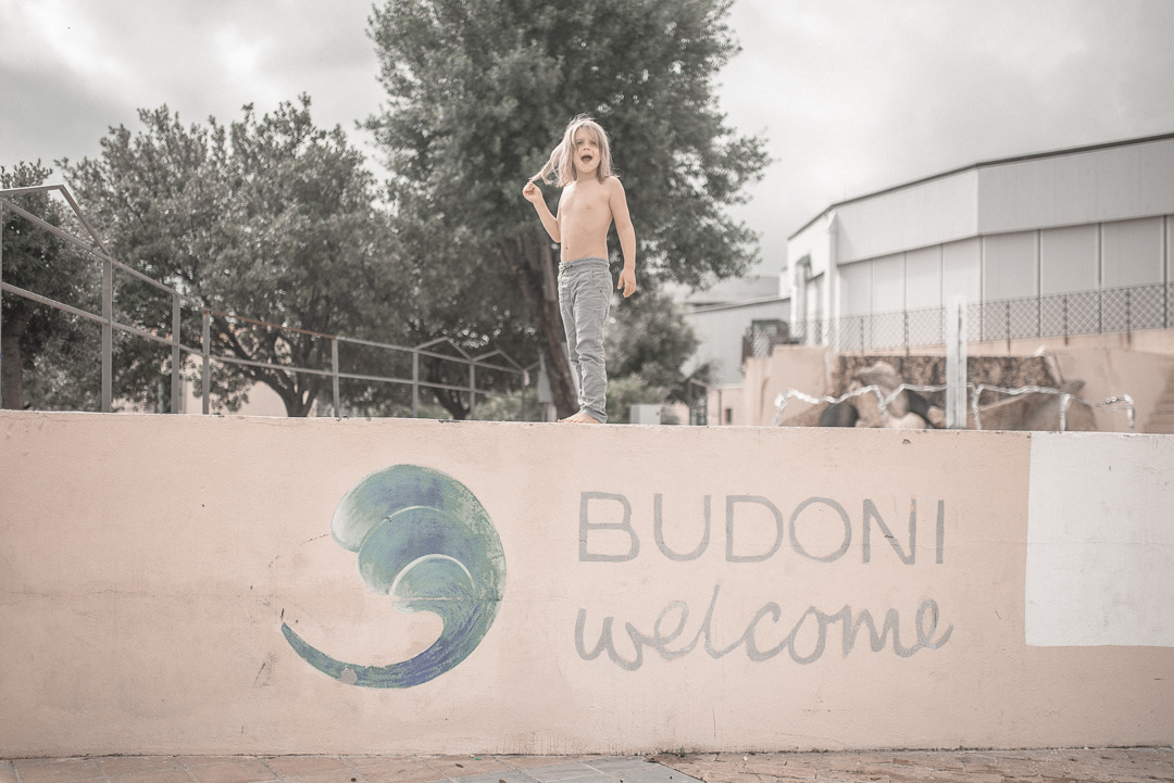 Travels with Autism - An Unofficial Guide - Charlie in Budoni, Sardinia